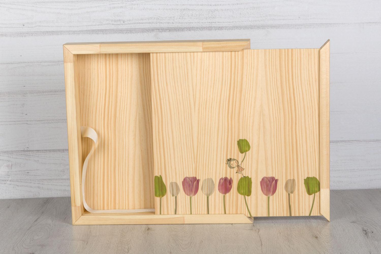 2020 Caja Slim madera